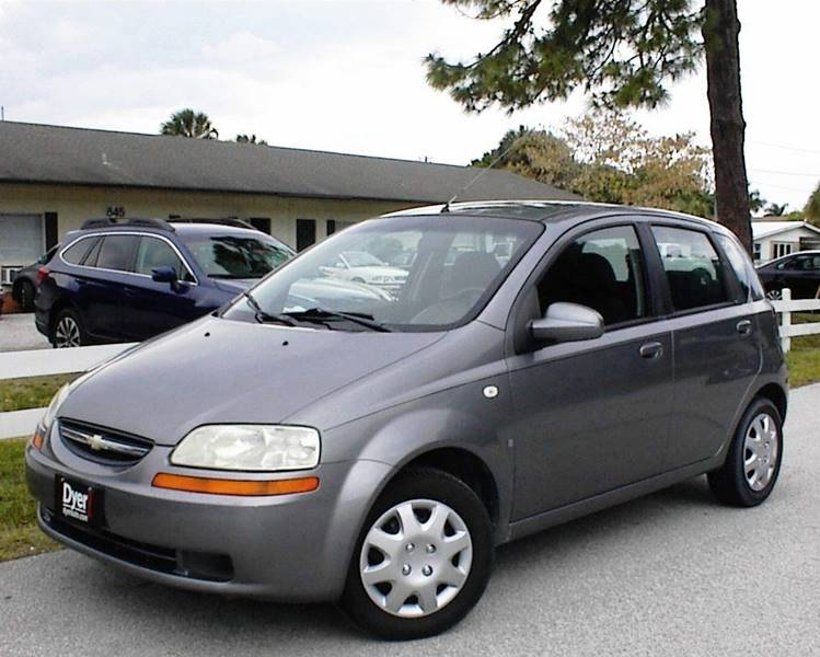 2007 chevrolet aveo 5 ls 4dr hatchback in vero beach fl. Black Bedroom Furniture Sets. Home Design Ideas