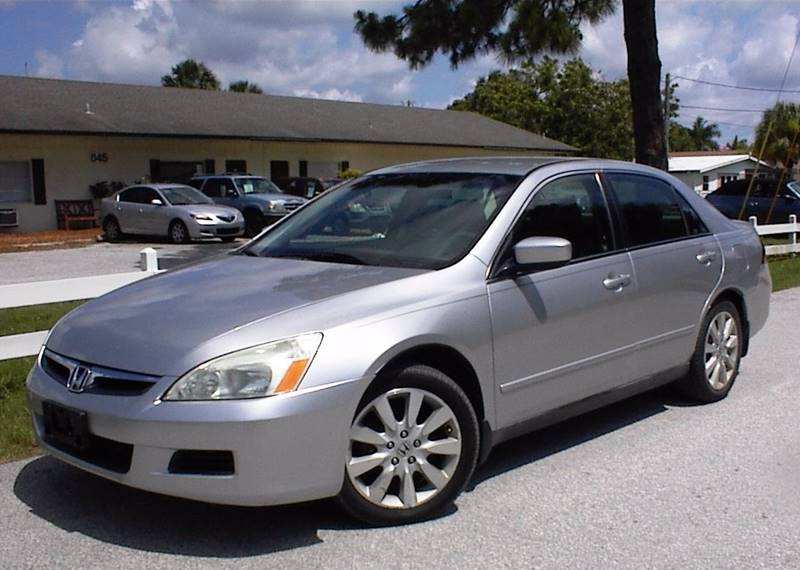2007 honda accord special edition v 6 4dr sedan in vero beach fl jm auto sales. Black Bedroom Furniture Sets. Home Design Ideas