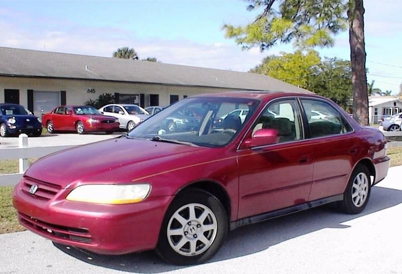 2002 Honda Accord SE 4dr Sedan - Vero Beach FL