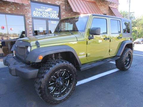 2007 Jeep Wrangler Unlimited for sale in Pearl, MS