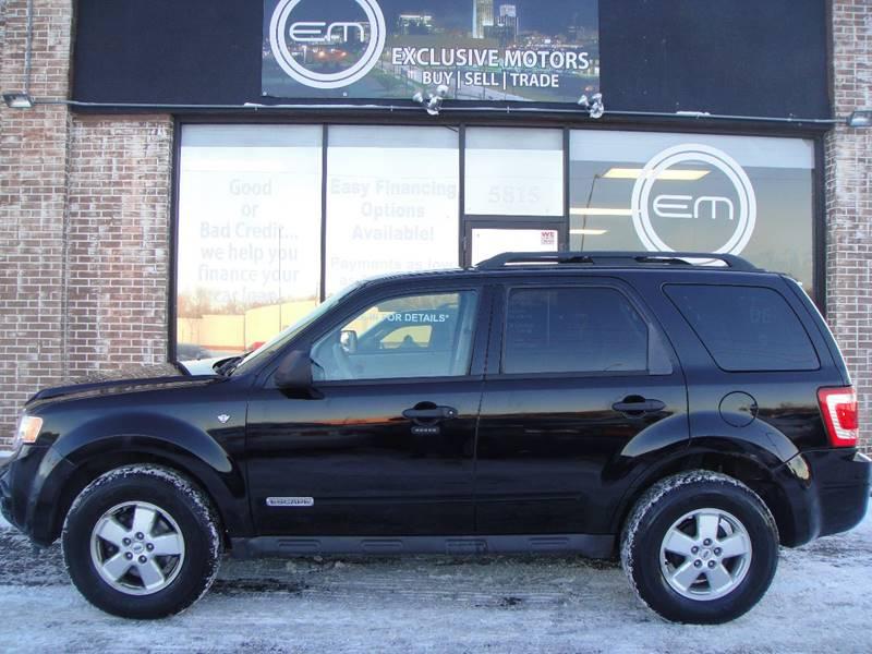 2008 ford escape hybrid awd problems