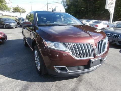 2012 Lincoln MKX for sale in Waterbury, CT