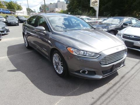 2014 Ford Fusion Hybrid for sale in Waterbury, CT