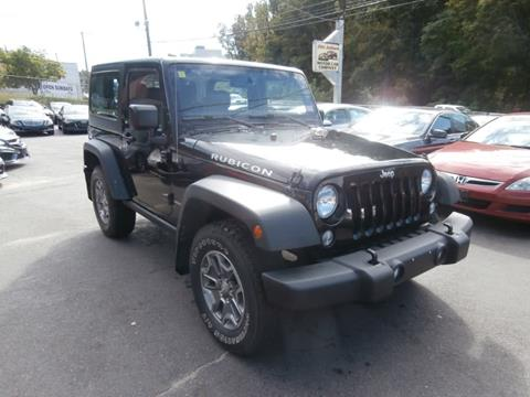 2015 Jeep Wrangler for sale in Waterbury, CT