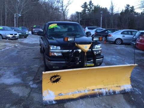 2003 Chevrolet Silverado 1500 for sale in Nottingham, NH