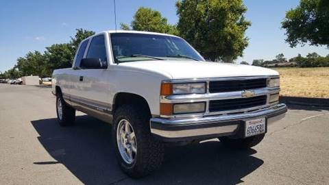1998 Chevrolet C/K 1500 Series for sale at 707 Motors in Fairfield CA