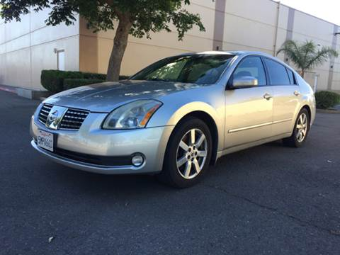 2004 Nissan Maxima for sale at 707 Motors in Fairfield CA