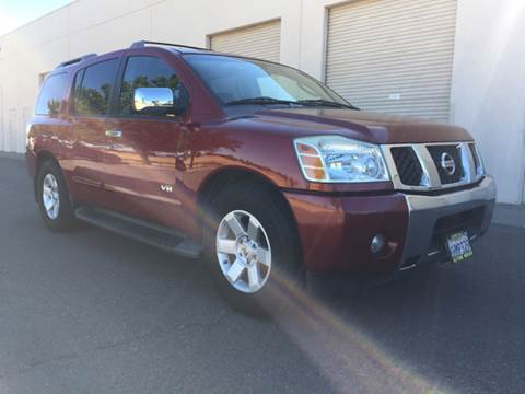 2006 Nissan Armada for sale at 707 Motors in Fairfield CA