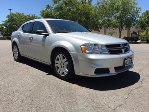 2012 Dodge Avenger for sale at 707 Motors in Fairfield CA