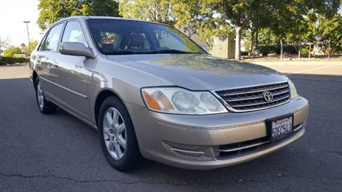 2003 Toyota Avalon for sale at 707 Motors in Fairfield CA