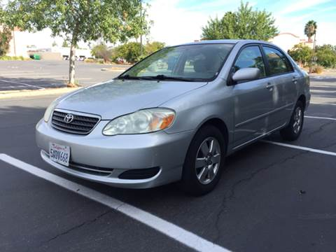 2007 Toyota Corolla for sale at 707 Motors in Fairfield CA