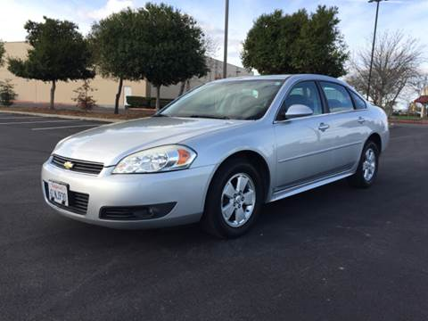 2010 Chevrolet Impala for sale at 707 Motors in Fairfield CA
