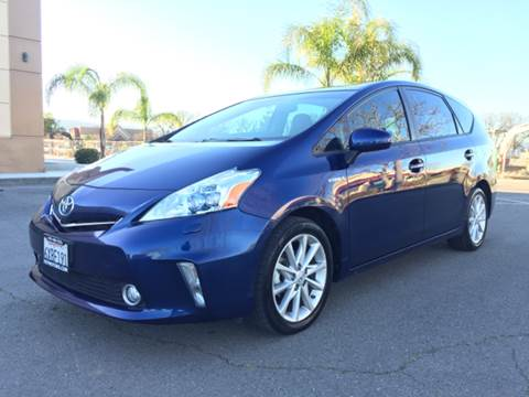 2012 Toyota Prius v for sale at 707 Motors in Fairfield CA