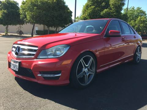 2013 Mercedes-Benz C-Class for sale at 707 Motors in Fairfield CA