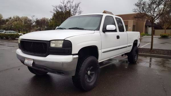 2000 Gmc Sierra 1500 3dr Slt 4wd Extended Cab Sb In