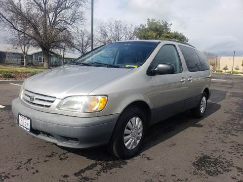 2001 Toyota Sienna for sale at 707 Motors in Fairfield CA