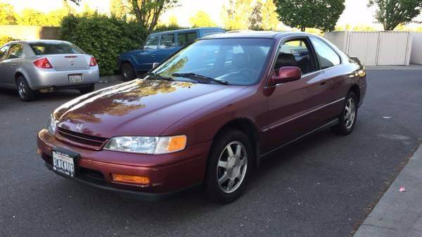 1995 honda accord ex 2dr coupe in vacaville ca 707 motors 1995 honda accord ex 2dr coupe in