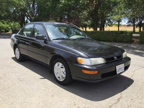 1996 Toyota Corolla for sale at 707 Motors in Fairfield CA
