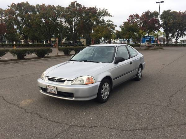 1998 Honda Civic DX 2dr Coupe   Vacaville CA