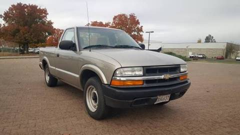 2002 Chevrolet S-10 for sale at 707 Motors in Fairfield CA