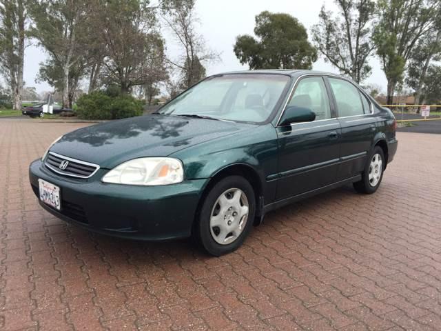 1999 Honda Civic EX 4dr Sedan   Vacaville CA