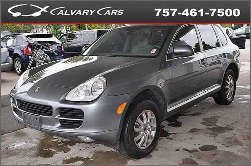 2006 Porsche Cayenne for sale at Calvary Cars & Service Inc. in Norfolk VA