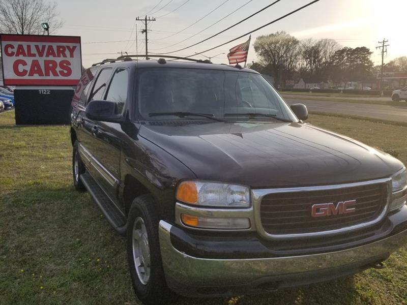 2005 GMC Yukon XL for sale at Calvary Cars & Service Inc. in Norfolk VA