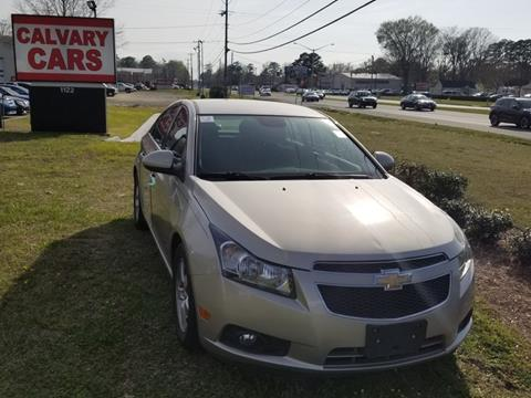 2013 Chevrolet Cruze for sale at Calvary Cars & Service Inc. in Norfolk VA