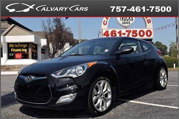 2013 Hyundai Veloster for sale at Calvary Cars & Service Inc. in Norfolk VA