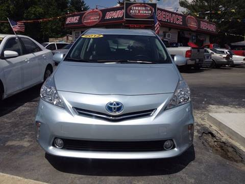 2012 Toyota Prius v for sale in Georgetown, DE