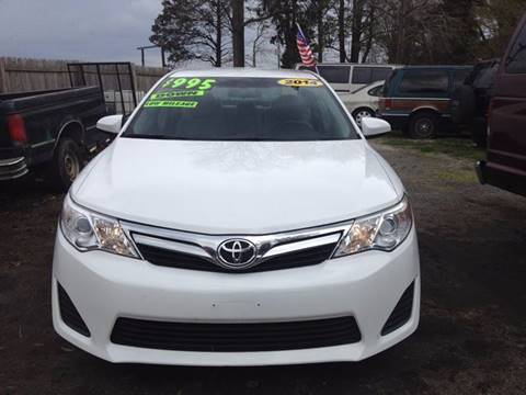 2014 Toyota Camry for sale in Georgetown, DE