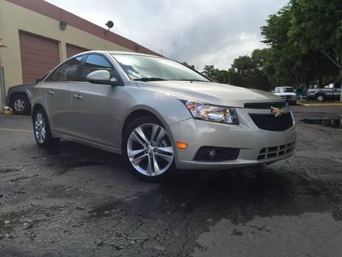 2013 Chevrolet Cruze for sale at MIAMI AUTO LIQUIDATORS in Miami FL