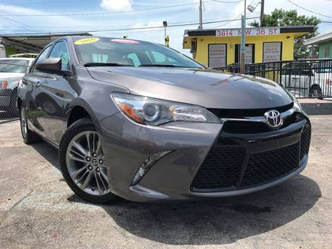 2016 Toyota Camry for sale at MIAMI AUTO LIQUIDATORS in Miami FL