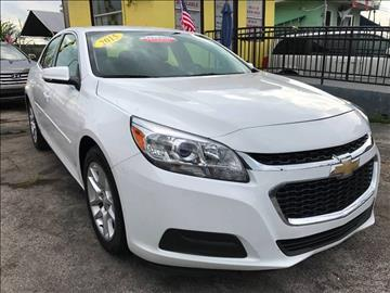 2015 Chevrolet Malibu for sale at MIAMI AUTO LIQUIDATORS in Miami FL