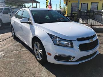 2015 Chevrolet Cruze for sale at MIAMI AUTO LIQUIDATORS in Miami FL