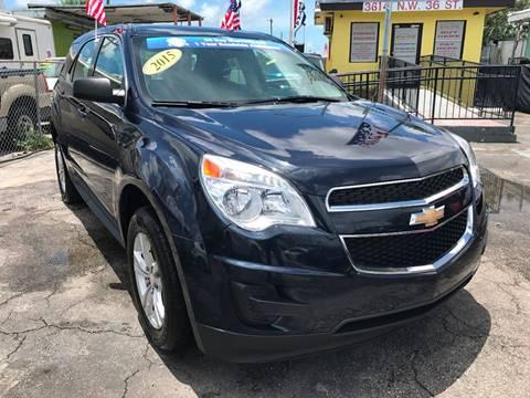 2015 Chevrolet Equinox for sale at MIAMI AUTO LIQUIDATORS in Miami FL