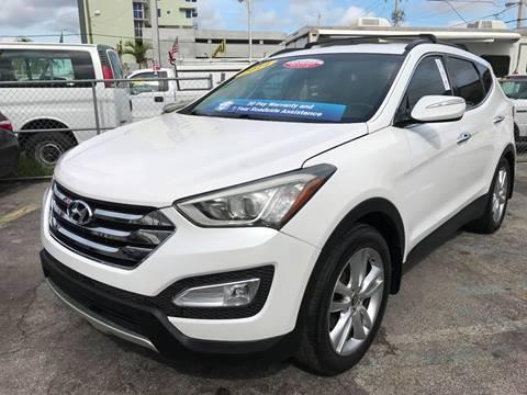 2013 Hyundai Santa Fe Sport for sale at MIAMI AUTO LIQUIDATORS in Miami FL