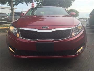 2013 Kia Optima for sale at MIAMI AUTO LIQUIDATORS in Miami FL
