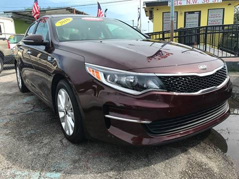2016 Kia Optima for sale at MIAMI AUTO LIQUIDATORS in Miami FL