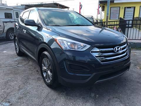 2016 Hyundai Santa Fe Sport for sale at MIAMI AUTO LIQUIDATORS in Miami FL