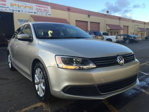 2013 Volkswagen Jetta for sale at MIAMI AUTO LIQUIDATORS in Miami FL