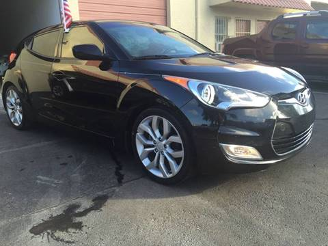 2012 Hyundai Veloster for sale at MIAMI AUTO LIQUIDATORS in Miami FL