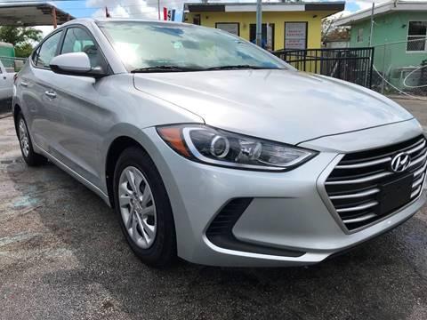 2017 Hyundai Elantra for sale at MIAMI AUTO LIQUIDATORS in Miami FL