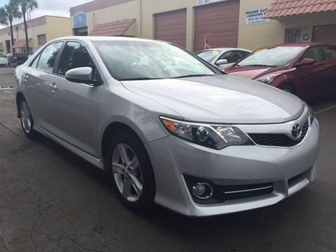 2014 Toyota Camry for sale at MIAMI AUTO LIQUIDATORS in Miami FL
