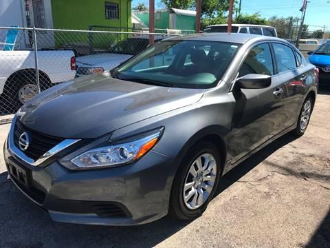 2016 Nissan Altima for sale at MIAMI AUTO LIQUIDATORS in Miami FL