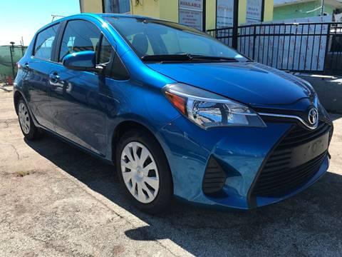 2016 Toyota Yaris for sale at MIAMI AUTO LIQUIDATORS in Miami FL