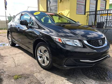 2013 Honda Civic for sale at MIAMI AUTO LIQUIDATORS in Miami FL