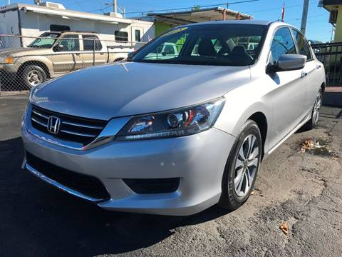 2015 Honda Accord for sale at MIAMI AUTO LIQUIDATORS in Miami FL