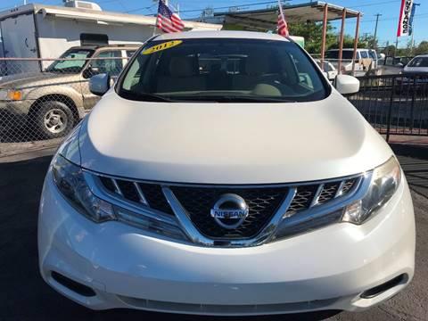 2012 Nissan Murano for sale at MIAMI AUTO LIQUIDATORS in Miami FL