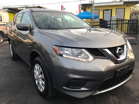2016 Nissan Rogue for sale at MIAMI AUTO LIQUIDATORS in Miami FL